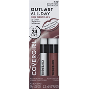 CoverGirl Lipcolor with Topcoat, Dusty Rose 120