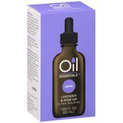 Earth Essentials Oil For Face, Body & Hair, Lavender & Rose Hip