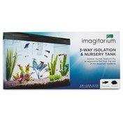 """Imagitarium Isolation & Nursery Fish Tank 8.4"""" L X 3.7"""" H X 3.7"""" Diameter"""