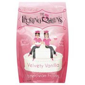 The Frosting Queens Frosting, Buttercream, Velvety Vanilla