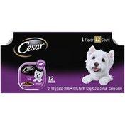 CESAR Filet Mignon Flavor Classic Loaf in sauce Canine Cuisine