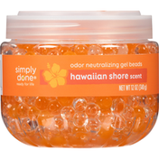 Simply Done Odor Neutralizing Gel Beads, Hawaiian Shore
