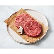 Kings USDA CHOICE FRESH GROUND BEEF PATTIES 90% LEAN 10% FAT