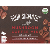 Four Sigmatic Coffee Mix, Organic, Mushroom, Packets