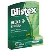Blistex Lip Protectant/Sunscreen, Medicated, Mint Balm, SPF 15
