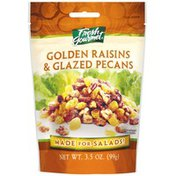 Fresh Gourmet Golden Raisins & Glazed Pecans