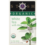 Stash Tea White Tea, Organic, with Mint