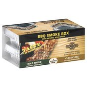 Bbq Chef BBQ Smoke Box, Bold Maple and Classic Oak