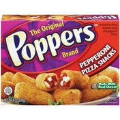 Poppers Pepperoni Pizza Snacks