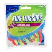 CareOne Kids Flossups Bubble Gum Flavor - 30 CT