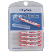TopCare Interdental Brushes For Bridges And Braces