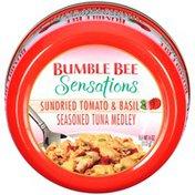 Bumble Bee Seasoned Sundried Tomato & Basil Sensations Tuna Medley