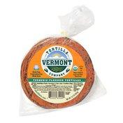 Vermont Tortilla Company Turmeric flavored organic stone ground corn tortillas
