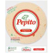 Pepito Fajita Flour Tortillas