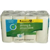 Simply Done Ultra Strong & Absorbent Paper Towels Giant Rolls