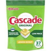 Cascade Original Actionpacs Dishwasher Detergent Pods, Lemon