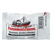 Fisherman's Friend Original Extra Strong Menthol Cough Suppressant Lozenges - 20 CT