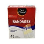 Best Choice Clear Bandages Asstorted