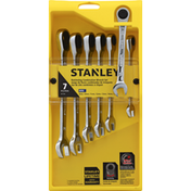 Stanley Wrench Set, Ratcheting Combination