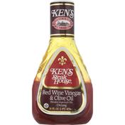 Ken's Steak House Dressing, Red Wine Vinegar & Olive Oil