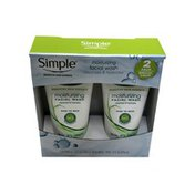 Simply Moisturizing Facial Wash Cleanses & Hydrates