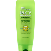 Garnier Fructis Conditioner, Fortifying Cream, Moisture Works, For Dry or Damaged Hair