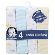 Gerber Flannel Blankets