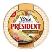 Président Triple Creme Brie Wheel