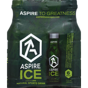 Aspire Sports Drink, Ice, Lemon Lime