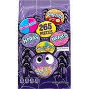 Nestle Laffy Taffy Pumpkin Donut, SweeTarts, Nerds Grape/Strawberry, Gobstopper Candy