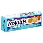 Rolaids Antacid, Ultra Strength, Softchews, Orange