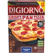 DiGiorno Pan Pepperoni Crispy Frozen Pizza