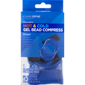 CareOne Gel Bead Compress, Knee, Hot & Cold