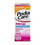 PediaCare Allergy Oral Solution Ages 4-11 Bubble Gum Flavor
