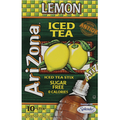 Arizona Ice Tea Stix, Sugar Free, Lemon