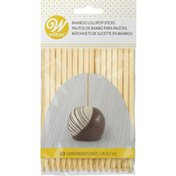 Wilton 5-Inch Bamboo Lollipop Sticks, 30-Count