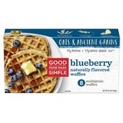 Good Food Made Simple Blueberry Waffles