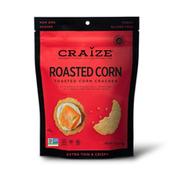 Craize Corn Roasted Toasted Corn Crackers