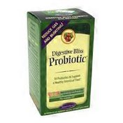 Nature's Secret Digestive Bliss Probiotic 18 Probiotics to Support a Healthy Intestinal Tract DIETARY SUPPLEMENT PATENTED GEL-BARRIER TABLETS