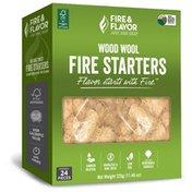 Fire & Flavor Wood Wool Fire Starters