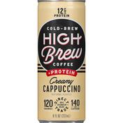High Brew Coffee, Cappuccino, Creamy