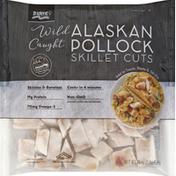 Trident Seafoods Alaskan Pollock, Wild Caught, Skillet Cuts