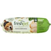Freshpet Slice & Serve Roll Grain Free Chicken Recipe With Spinach & Potato