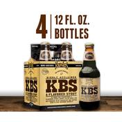 Founders Kentucky Breakfast Stout- Coffee & Chocolate Bourbon Barrel Aged Beer Bottles
