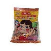 Fujiya Peko Pop Candy Fruit Flavor Lollipops