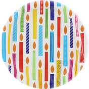 Party Creations Plates, Bright Birthday