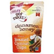 Got Snacks Coconut Chips, Roasted, Cinnamon Honey