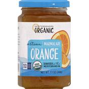 Mediterranean Organic Marmalade, Artisan, Orange