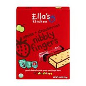 Ella's Kitchen Nibbly Fingers Apples & Strawberries Organic - 12+ Months