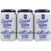 Grand Teton Brewing Beer, Pilsner, Bluebird